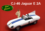 Jaguar E 2A. Slot. Coches Slot Classic.
